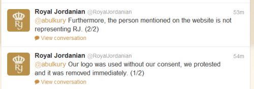 Royal Jordanian Reponse EN